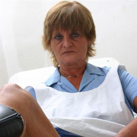 Neuken met deze 58-jarige vrouw